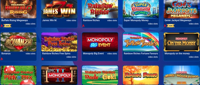 All British Casino App Games