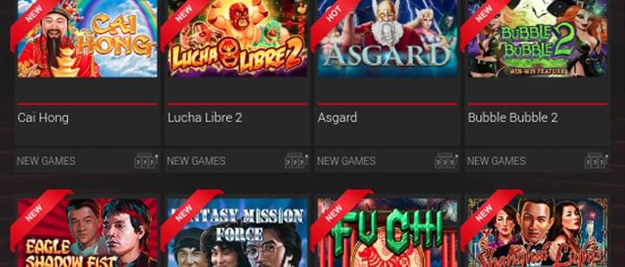 BoVegas Casino App Games