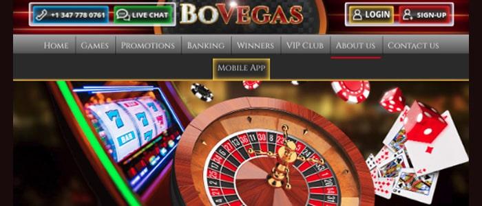 BoVegas Casino App Fair Gaming