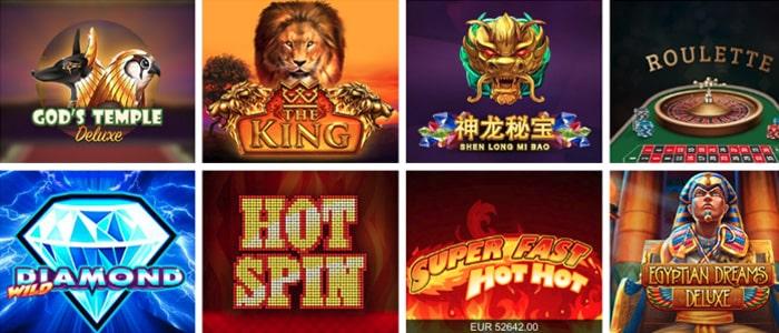 GW Casino App Games