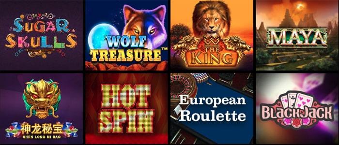 Roo Casino App Games