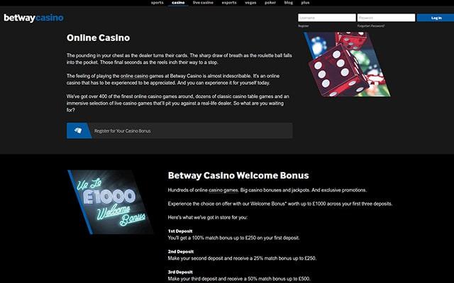Betway Casino 5