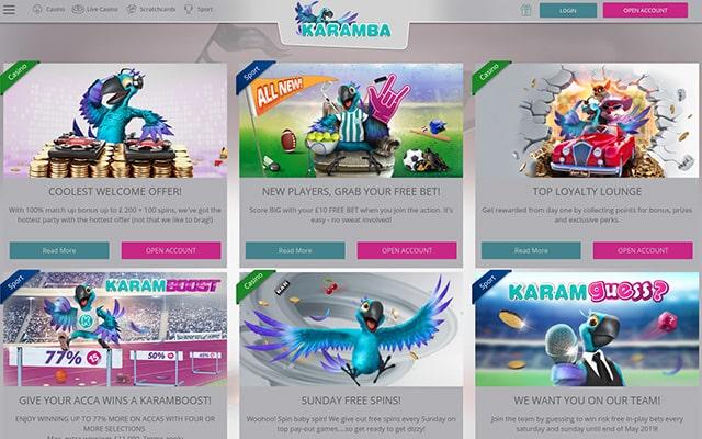 Karamba Casino 4
