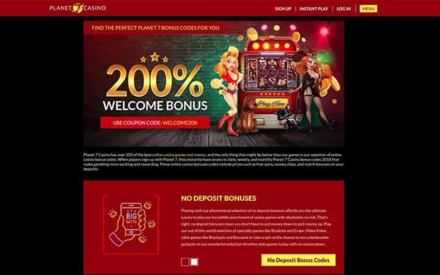Planet7 Casino Trust Score Review Bonuses Games