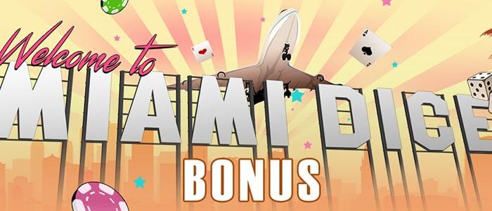 Miami Dice Casino App Bonus