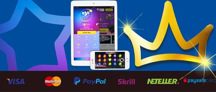 PlayOJO Casino App Banking