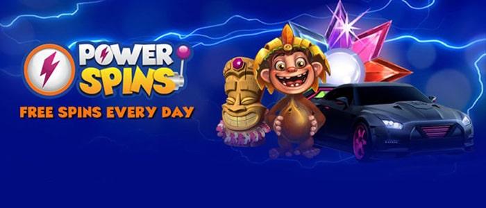 Power Spins Casino App Intro
