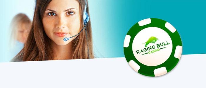 Raging Bull Casino App Support