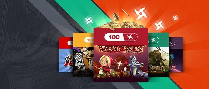 ninja casino app bonuses