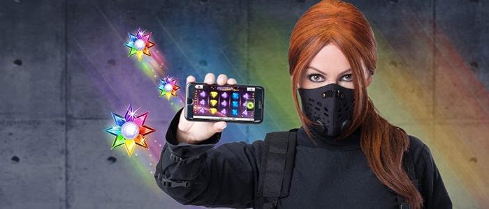 ninja casino app intro