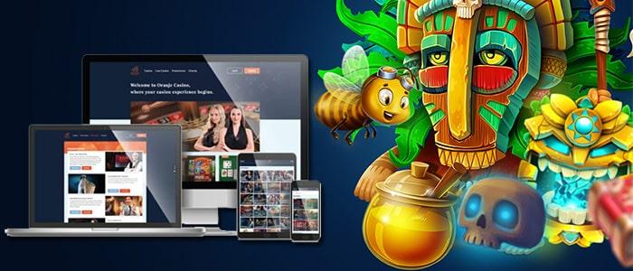 oranje casino app intro