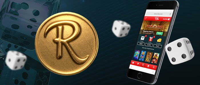 rolla casino app intro