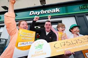The Anonymous Irish Winners - €175.5 million