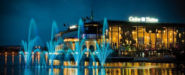 Casino Barriere d'Enghien-les-Bains, France