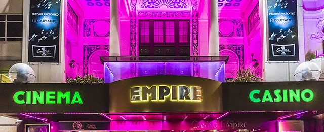 The Casino at the Empire, London, the UK