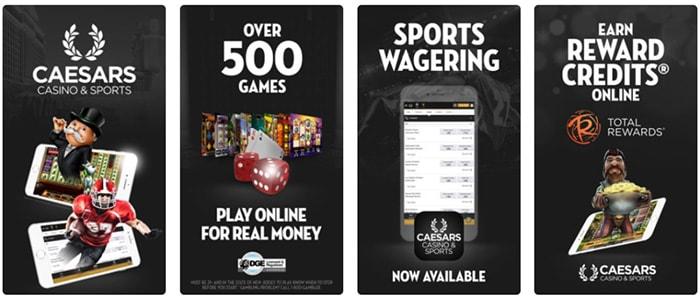 Caesars Casino App Intro