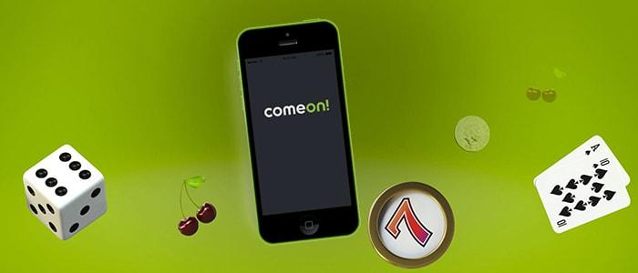 ComeOn Casino App Intro