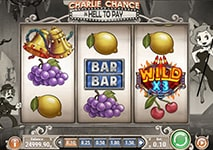 Charlie Chance: in Hell to Pay slot theme