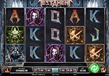 Testament Slot Theme