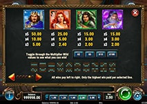 The Sword & The Grail Slot Features