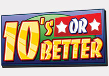 Video Poker 10's or Better Logo