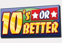 Video Poker 10's or Better Logo
