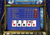 Video Poker Straight Draw