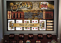 The Jack of Spades Video Poker