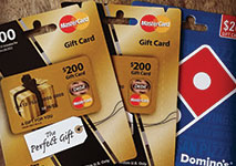 MasterCard Casinos Gift Cards