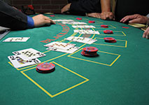 A game of Blackjack