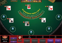 Multi-hand Blackjack Online by Microgaming
