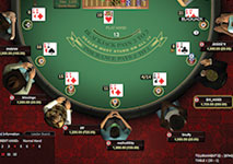 Blackjack Online Tournament Screenshot