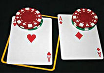Blackjack Pair of Aces
