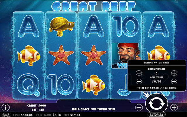 Great Reef 5-Reel Slot