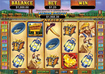 Vegas Technology - Paydirt Slot Screenshot