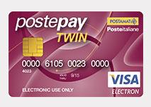 Twin Postepay Visa