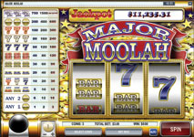 Major Moolah Slot by Rival Screenshot