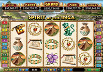 RTG Slots Spirits of the Inca Screenshot