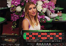 Live Casino Roulette Screenshot