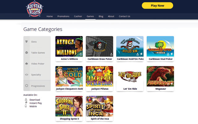 casino online games power star