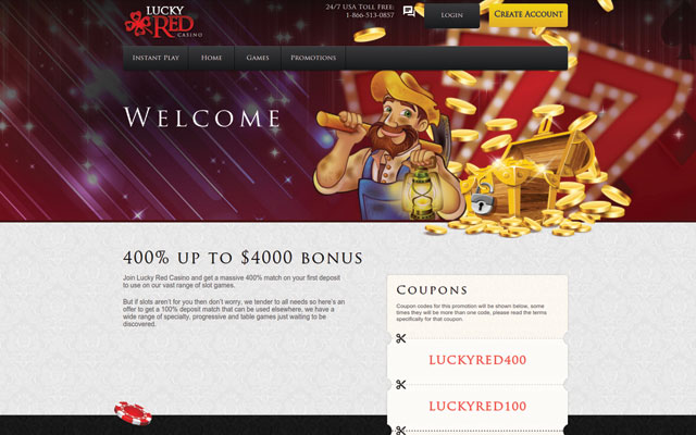 lucky red casino winners