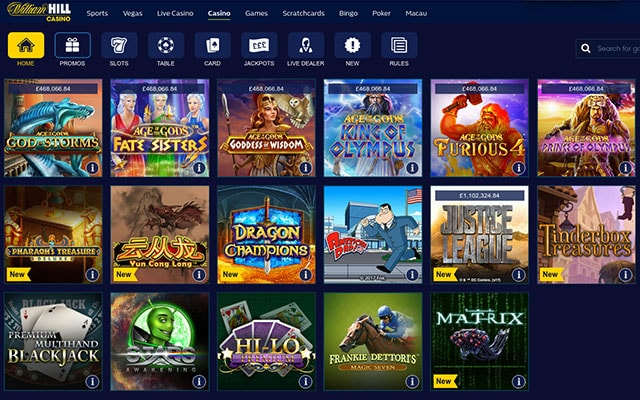 online casino william hill spielautomaten games