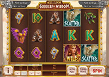 Goddes of Wisdom Slot Playtech