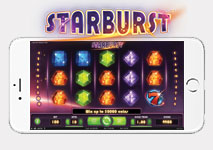 Mobile Slot Starburst