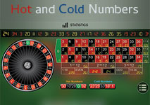 Roulettte Hot and Cold Numbers