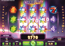 starburst big win screenshot