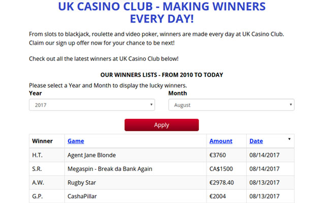 UK Casino Club 5