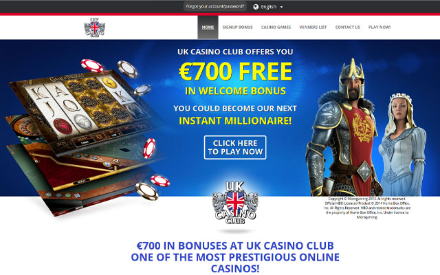 UK Casino Club 7