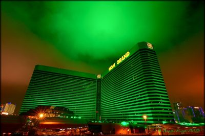 MGM Resorts International (MGM) jumped 0.15 percent in the last trading session
