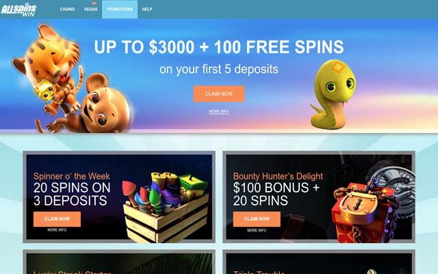 AllSpinsWin Casino 2